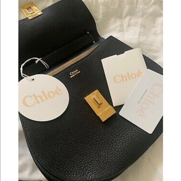 Chloe Handbags - CHLOÈ Drew leather shoulder bag - New with tags